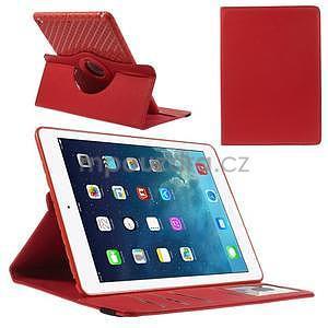 Circ otočné pouzdro na Apple iPad Air - červené - 1