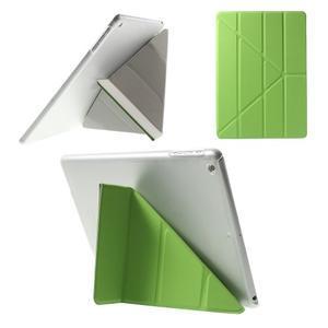 Origami ochranné pouzdro na Apple iPad Air - zelené - 1