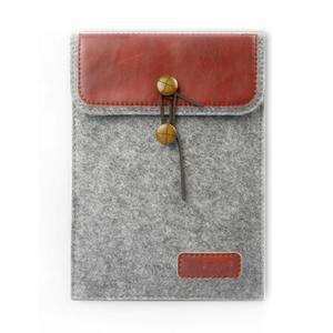 Envelope univerzální pouzdro na tablet 26.7 x 20 cm - červené - 1