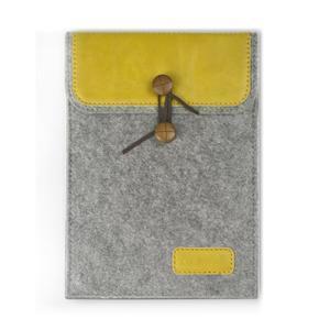 Envelope univerzální pouzdro na tablet 26.7 x 20 cm - žluté - 1