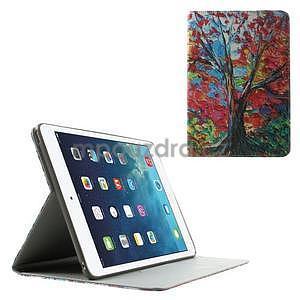 Paint stylové ochranné pouzdro na iPad Air 2 - strom - 1