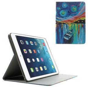 Paint stylové pouzdro na iPad Air 2 - loďka - 1