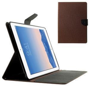 Excelent Diary pouzdro pro iPad Air 2 - hnědé - 1