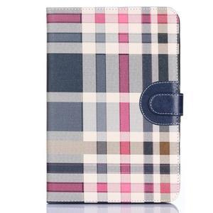 Fashion style pouzdro na iPad Air 2 - tmavě modré - 1