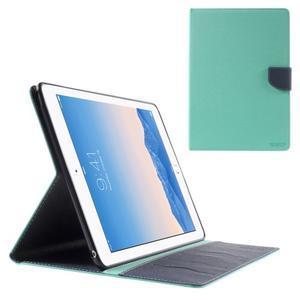 Excelent Diary pouzdro pro iPad Air 2 - azurové - 1