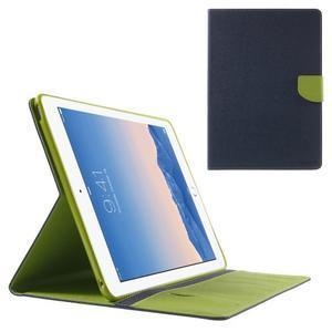 Excelent Diary pouzdro pro iPad Air 2 - tmavěmodré - 1