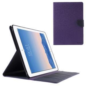 Excelent Diary pouzdro pro iPad Air 2 - fialové - 1