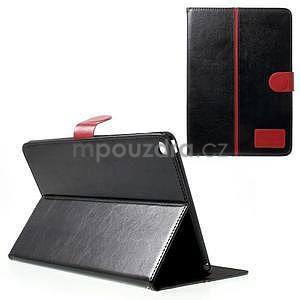 Daffi elegantní pouzdro na iPad Air 2 - černé - 1