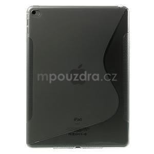 S-line gelový obal na iPad Air 2 - šedý - 1