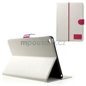 Daffi elegantní pouzdro na iPad Air 2 - bílé - 1