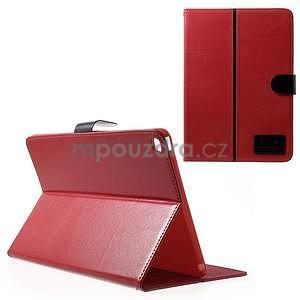 Daffi elegantní pouzdro na iPad Air 2 - červené - 1