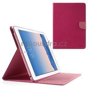 Diary peněženkové pouzdro na iPad Air - rose - 1