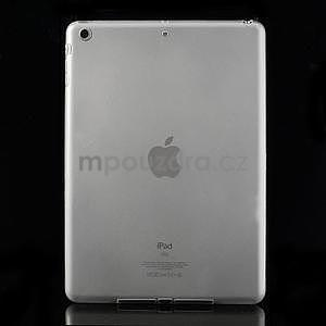 Gelový ochranný obal na iPad Air - transparentní - 1
