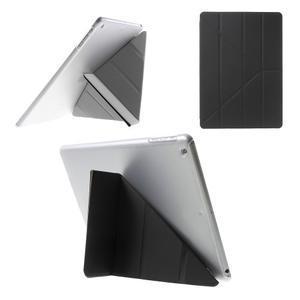 Origami ochranné pouzdro na Apple iPad Air - černé - 1