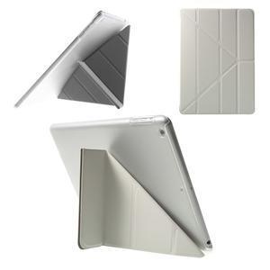 Origami ochranné pouzdro na Apple iPad Air - bílé - 1