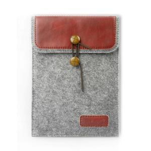 Envelope univerzální pouzdro na tablet 22 x 16 cm - červené - 1