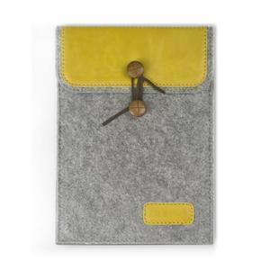Envelope univerzální pouzdro na tablet 22 x 16 cm - žluté - 1
