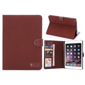 Cloth luxusní pouzdro na Ipad Mini 3, Ipad Mini 2 a Ipad Mini - červené - 1