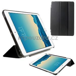 Classic tří polohové pouzdro na iPad Mini 3, ipad Mini 2 a na iPad Mini - černé - 1