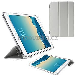 Classic tří polohové pouzdro na iPad Mini 3, ipad Mini 2 a na iPad Mini - bílé - 1