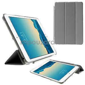 Classic tří polohové pouzdro na iPad Mini 3, ipad Mini 2 a na iPad Mini - šedé - 1