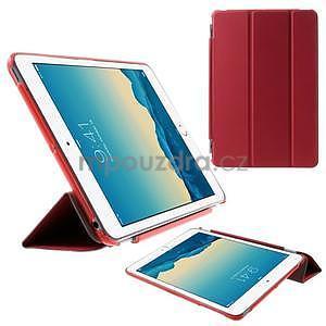 Classic tří polohové pouzdro na iPad Mini 3, ipad Mini 2 a na iPad Mini - červené - 1