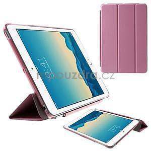 Classic tří polohové pouzdro na iPad Mini 3, ipad Mini 2 a na iPad Mini - růžové - 1