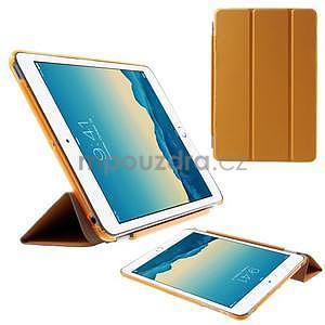Classic tří polohové pouzdro na iPad Mini 3, ipad Mini 2 a na iPad Mini - oranžová - 1