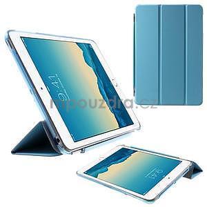 Classic tří polohové pouzdro na iPad Mini 3, ipad Mini 2 a na iPad Mini - modré - 1