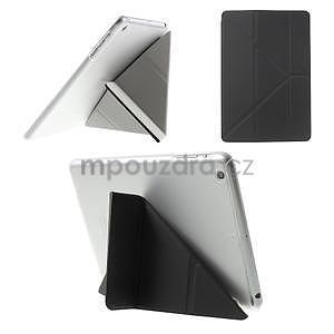 Origami ochranné pouzdro iPad Mini 3, iPad Mini 2, iPad mini - černé - 1