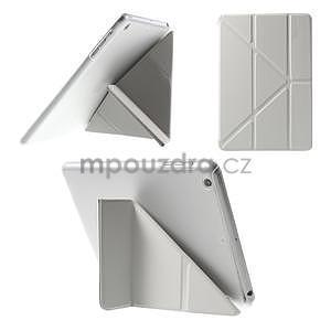 Origami ochranné pouzdro iPad Mini 3, iPad Mini 2, iPad mini - bílé - 1