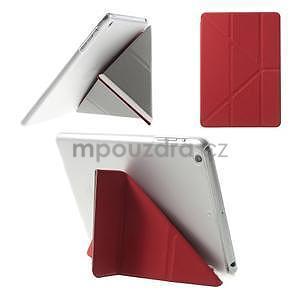 Origami ochranné pouzdro iPad Mini 3, iPad Mini 2, iPad mini - červené - 1