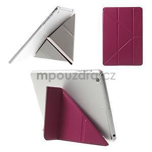 Origami ochranné pouzdro iPad Mini 3, iPad Mini 2, iPad mini - rose - 1