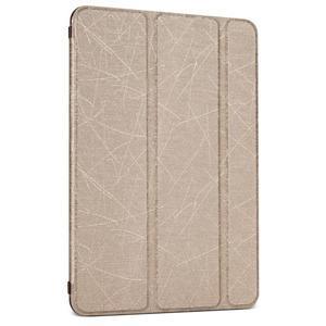 Lines polohovatelné pouzdro na iPad Mini 3 / iPad Mini 2 / iPad mini - zlaté - 1