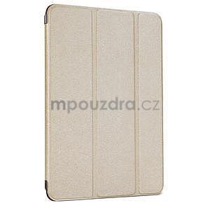 Lines polohovatelné pouzdro na iPad Mini 3 / iPad Mini 2 / iPad mini - champagne - 1
