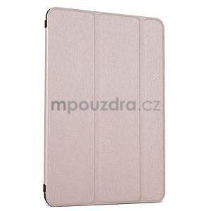 Lines polohovatelné pouzdro na iPad Mini 3 / iPad Mini 2 / iPad mini - rose gold - 1