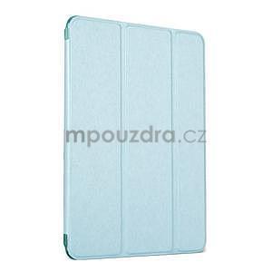 Lines polohovatelné pouzdro na iPad Mini 3 / iPad Mini 2 / iPad mini - cyan - 1