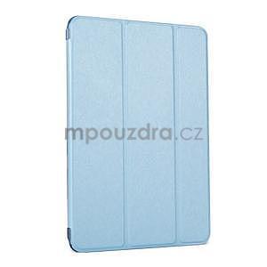 Lines polohovatelné pouzdro na iPad Mini 3 / iPad Mini 2 / iPad mini - modré - 1