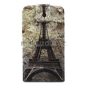 Flipové pouzdro pro Microsoft Lumia 640 - Eiffelova věž - 1