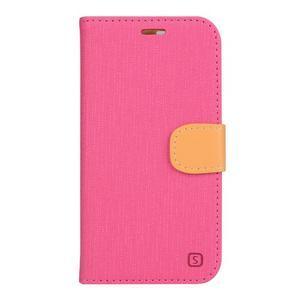 Clothy PU kožené pouzdro na mobil Doogee X5 - rose - 1