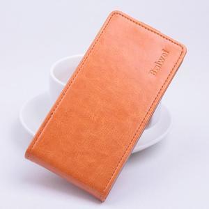 Flipové pouzdro na mobil Lenovo A2010 - oranžové - 1