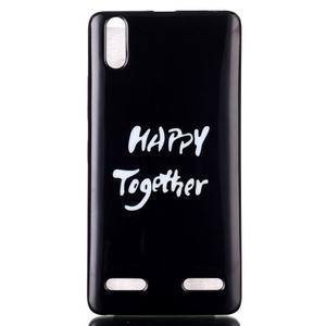 Jelly gelový obal na mobil Lenovo A6000 - štěstí - 1