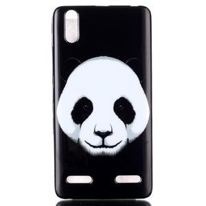 Jelly gelový obal na mobil Lenovo A6000 - panda - 1