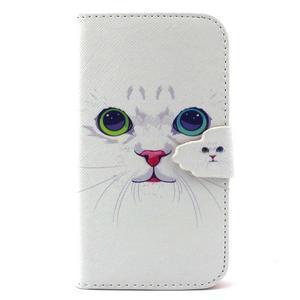Peněženkové pouzdro na mobil Samsung Galaxy S3 - kočička - 1