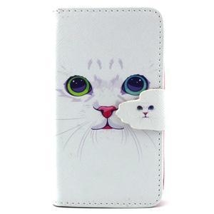 Fun peněženko pouzdro na Samsung Galaxy S3 mini - kočička - 1