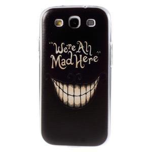 Ultratenký gelový obal na Samsung Galaxy S3 - smile - 1