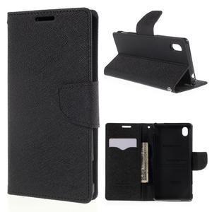 Ochranné pouzdro na Sony Xperia M4 Aqua - černé - 1