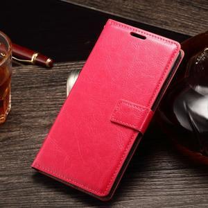 Koženkové pouzdro Sony Xperia M4 Aqua - rose - 1