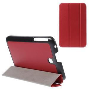 Supreme polohovatelné pouzdro na tablet Asus Memo Pad 7 ME176C - červené - 1