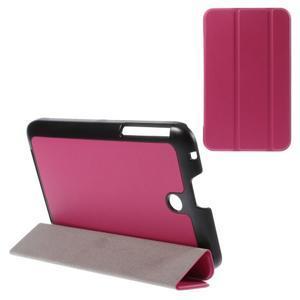 Supreme polohovatelné pouzdro na tablet Asus Memo Pad 7 ME176C - rose - 1